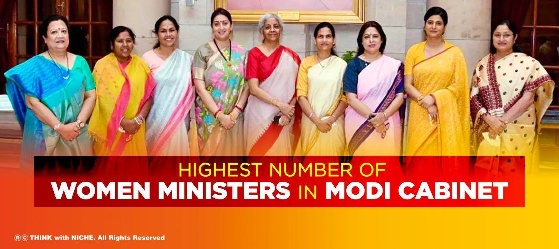 Highest number of women m